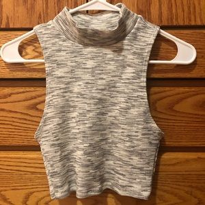 NWT Urban Outfitters Cropped Mockneck Tank